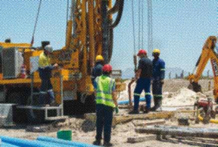 The City prioritised drilling boreholes to bring new sources of water into the system as quickly as possible.