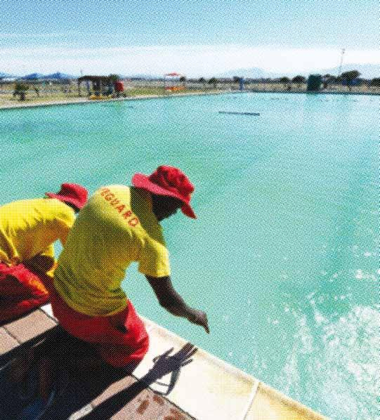 The question of water being used in private or public swimming pools raised ethical questions about how Capetonians share a common-good resource like water.